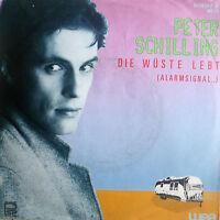 "7"" 1983 NDW IN MINT- ! PETER SCHILLING : Die Wüste lebt"