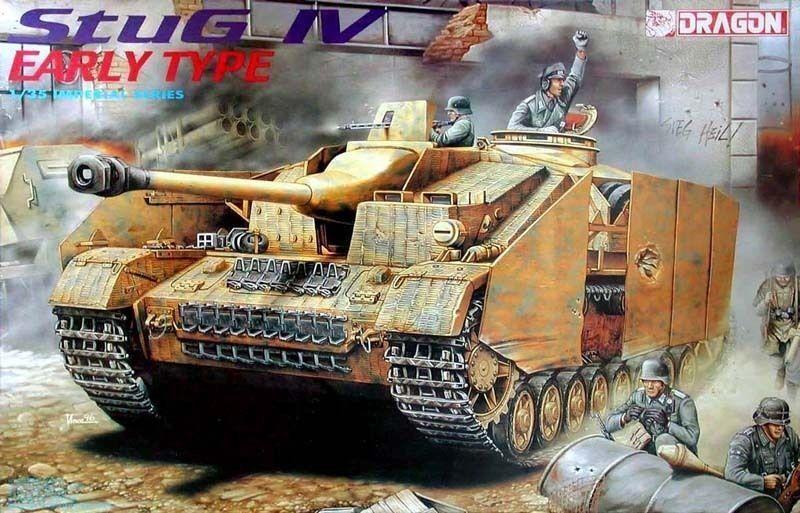 Dragon DML 1 35  Imperial Series STUG IV EARLY STYLE NIB