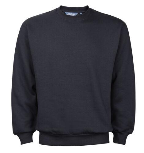 Mens New Plain Crew Neck Sweatshirt Jumper Top Pullover Sweater Long Sleeve