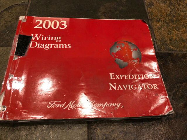 2003 Ford Expedition Lincoln Navigator Wiring Diagrams Electrical Service Manual