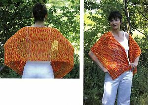 Details about Autumn Grace Stole - Cherry Tree Hill Knitting Pattern CTH-191