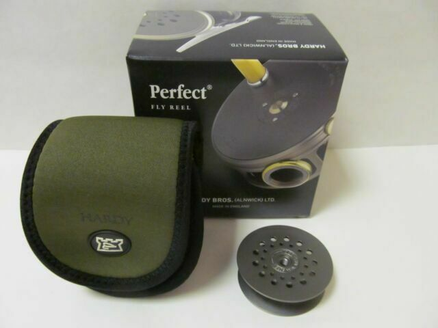 """Spare Spool for Hardy Perfect 2 7//8/"""" RHY// LHW Reel C2008//09 Mint Boxed England"""