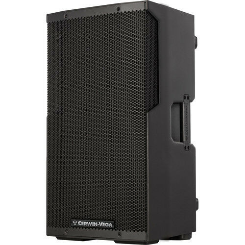 Cerwin Vega CVE-15 Powered 15-inch 1000-Watt blueetooth DJ Speaker with DSP