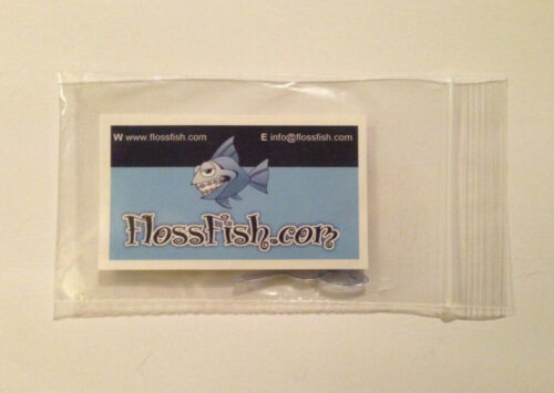 FLOSSFISH Orthodontic Flossers for Braces SET OF 5 Fast Easy Reusable FLOSS TOOL