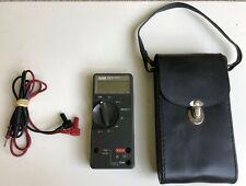 Fluke 73 Series Multimeter Vintage Leather Case Lead Probes