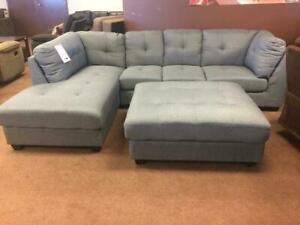 Huge Inventory Clearance !!!  BRAND NEW SECTIONAL WITH MATCHING OTTOMAN JUST FOR $1399 Saskatoon Saskatchewan Preview