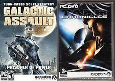 tarr chronicles & Galactic Assault - Prisoner of Power  new&sealed
