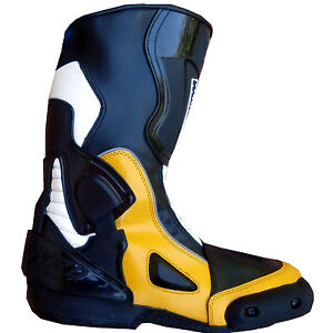 c668157f168b63 bottes WinNet model 6100 racing italienne moto 41 42 44 45 NEUF ...