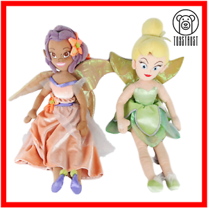 Fira-and-Tinkerbell-Fairies-Soft-Toy-Disney-Lot-Stuffed-Plush-Character-Bundle