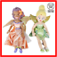 Fira-and-Tinkerbell-Fairies-Soft-Toy-Disney-Lot-Stuffed-Plush-Character-Bundle thumbnail 1