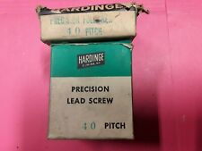 Hardinge 40 Pitch Lead Screw Amp Follower Hc Chucker New