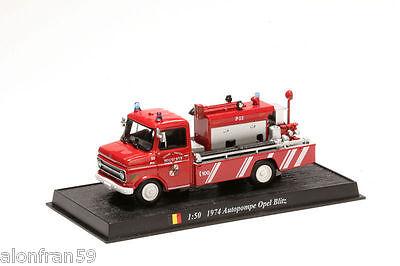 1:50  scale Fire engine 1974 AUTOPOMPE OPEL BLITZ CBO089