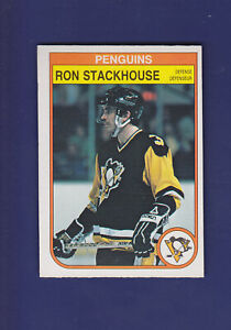 Ron-Stackhouse-1982-83-O-PEE-CHEE-OPC-Hockey-275-NM-Pittsburgh-Penguins
