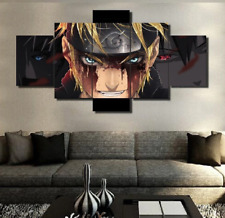 Naruto Animation Canvas Print Painting Home Decor Wall Poster No Frame 5 Pieces
