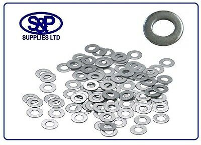 M24-24mm FORM A WASHERS FLAT WASHERS A2 304 STAINLESS STEEL DIN 125