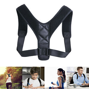 Back-Posture-Corrector-Shoulder-Straight-Support-Brace-Belt-Therapy-Men-Women-US