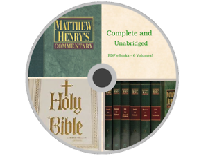 Matthew Henry Commentary On The Whole Bible Pdf