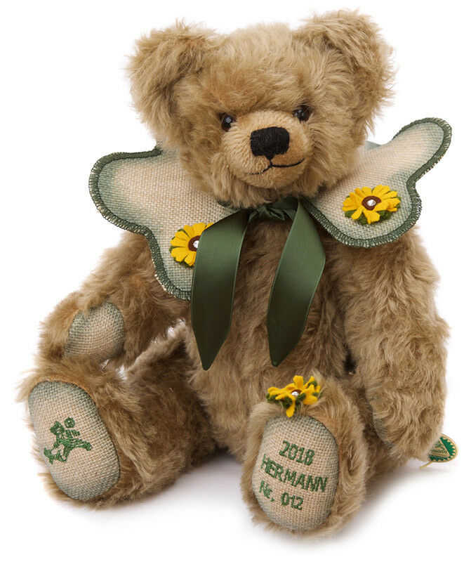 MoSiets of Happiness - 2018 Annual Teddy Bear by Hermann Spielwaren - 15217-8