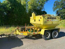 2013 Spaulding Rmv 4 Ton Hot Box Asphalt Reclaimer Diesel Fired Trailer