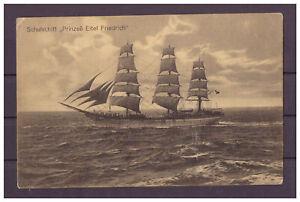 Carte-Postale-Schulschiff-034-Prinzes-Eitel-Friedrich-034-1914