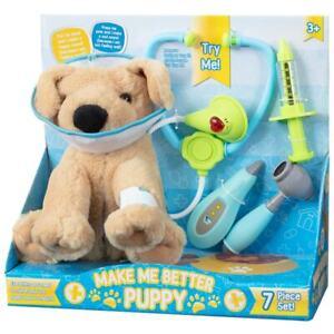 Make-Me-Better-Puppy-7-Piece-Efp-Set-de-Jeux-Peluche-Chien-amp-Accessoires