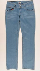 Details about TOMMY HILFIGER Women's VIOLA Low Rise Straight Leg Jeans, Blue, size W28 L32