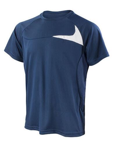 Result Spiro Herren T-Shirt Shirt Dash Training Cool-Dry S M L XL XXL 3XL 4XL