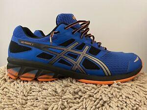 Details about Asics Gel-Frantic 7, T3A1N, Blue/Black, Mens Running Shoes, Size 13