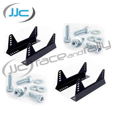 Bucket Seat Side Mount//Brackets Kit OMP Sparco Cobra Race//Rally//FIA//MSA 2x Pairs