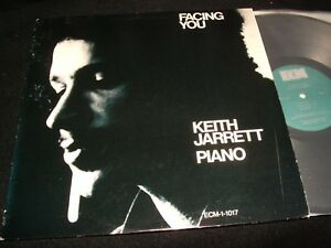 KEITH JARRETT PIANO<>FACING YOU<>Lp VINYL~USA  Pressing~ECM -1-1017