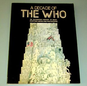 THE WHO 1965-1975 ROCK MUSIC WORDS PHOTOGRAPHS Psychedelic Art  Peter Townshend