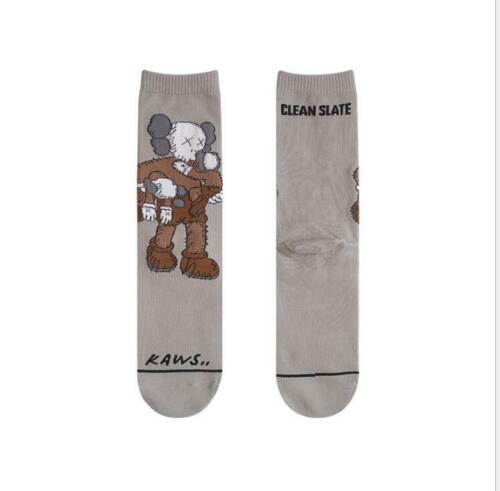 DAMAHOOV spring and autumn new KAWS tide brand cotton tube socks