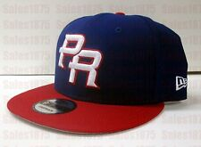 Authentic New Era 9Fifty WBC17 Puerto Rico Adjustbable Snapback Cap
