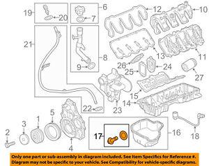 GM OEM-Engine Oil Drain Plug 11569943