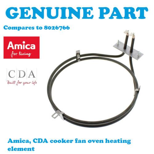 Amica 10153.3EX 10153.3 tsprdhbjx Cuisinière Ventilateur Principal Four Element 2000 W 8026766