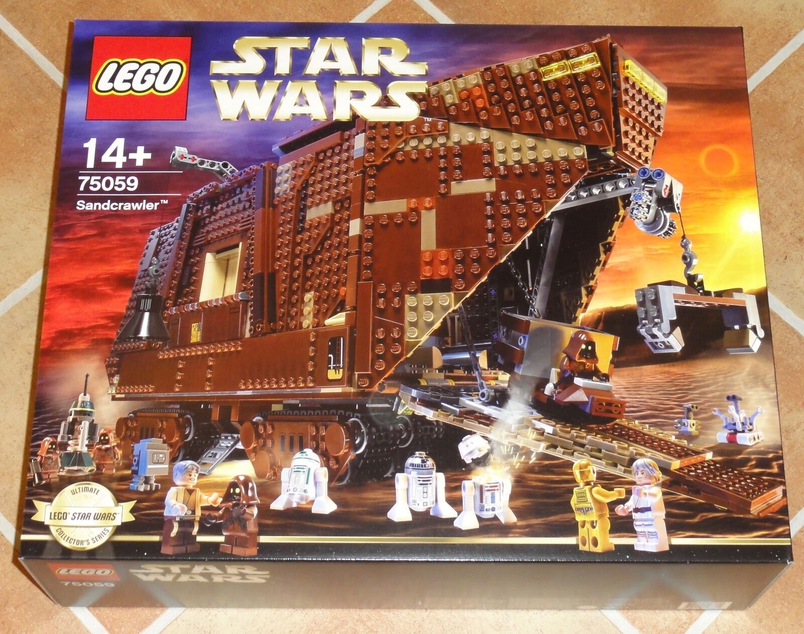 LEGO® Star Wars 75059 Sandcrawer new & sealed