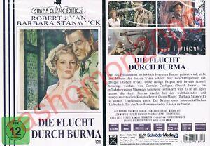 DVD-DIE-FLUCHT-DURCH-NACH-BURMA-1955-Barbara-Stanwyck-Robert-Ryan-OOP-Neu-OVP