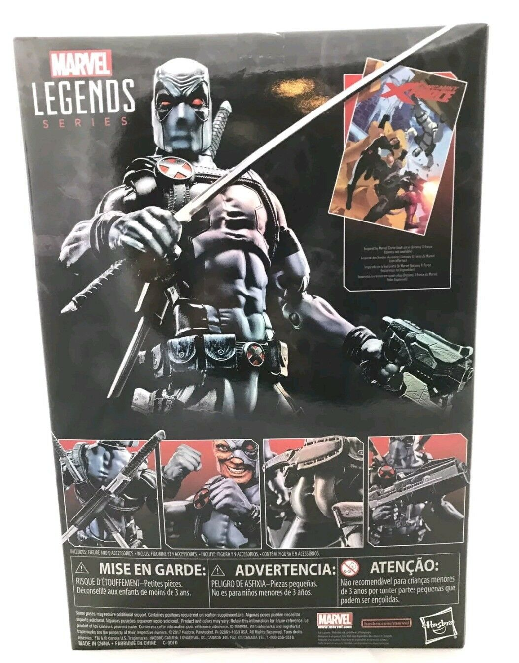 Marvel Marvel Marvel Legends Uncanny X-Force DEADPOOL Toys R Us TRU Exclusive 12  Figure 3b00eb