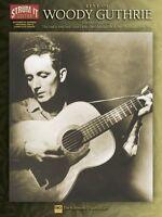 Best Of Woody Guthrie Sheet Music Strum It Guitar 000699496