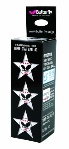 3 Star Super Table Tennis Balls