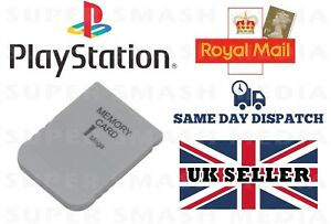 Carte-Memoire-1-Mo-pour-SONY-PLAYSTATION-1-PS1-PSX-15-Blocs-Neuf