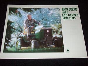 1980 John Deere Lawn Tractor Brochure 314 317 400 210 212 214 216 Ebay