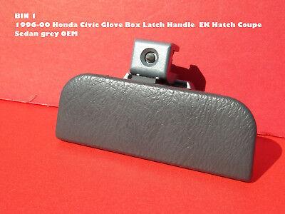 479 1996-00 Honda Civic Glove Box Latch Handle  EK Hatch Coupe Sedan brown OEM