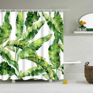 Green Leaves Polyester Waterproof