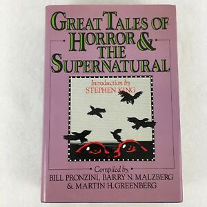 1985-Great-Tales-of-Horror-amp-The-Supernatural-Hardcover-Dust-Jacket-Book