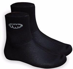 TWF-3mm-NEOPRENE-WETSUIT-SOCKS-Sz-3-12-Adults-kids-boots-kayak-jetski-dive-sup