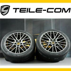 NEU-ORIG-Porsche-Cayenne-E3-9Y0-21-034-RS-SPYDER-Winterraeder-Satz-winter-wheels