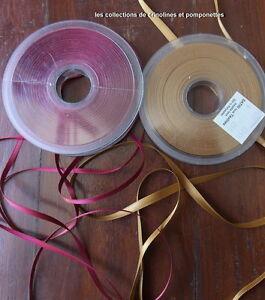 Rubans De Satin Lot De 2 Rouleaux De 25 M 2 Couleurs Super Promo* Voulez-Vous Acheter Des Produits Autochtones Chinois?