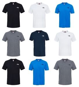 The-North-Face-Simple-Dome-Mens-T-Shirt-Casual-Gym-Cotton-Tee-TNF-T-Shirt-Tops