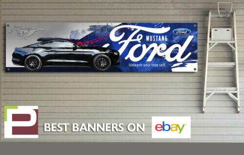 Ford Mustang Banner garage 5.0 V8 Shelby etc Showroom office for Workshop